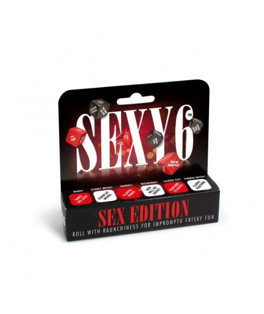 SEXY 6 SEX EDITION DICE